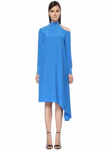Mo&Co Elbise Mavi